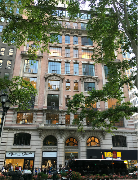 Bryant Park Studios, 80 West 40th Street, New York, home of monty and stella marks, As it looks today.