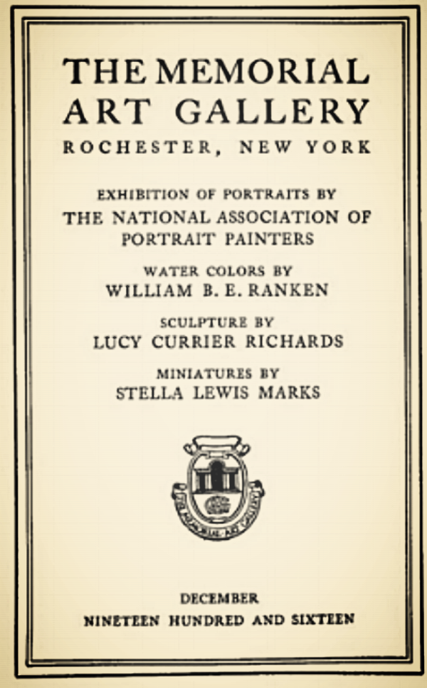 Stella Marks catalogue in 1916