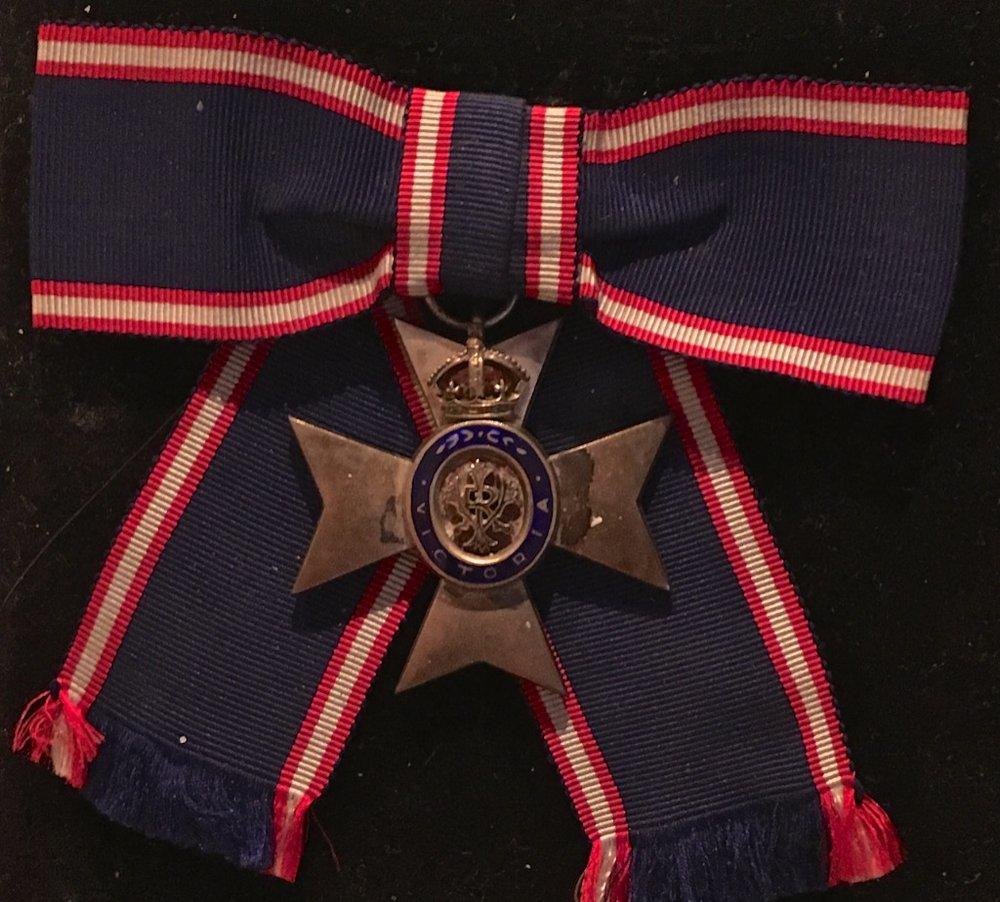 Stella Marks' MVO, Awarded by Queen Elizabeth II, 30 December 1978