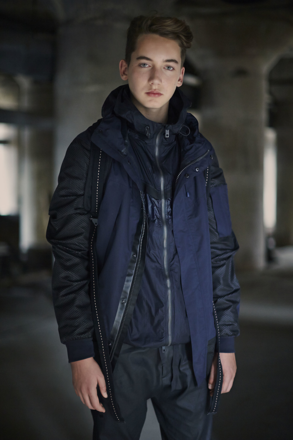 Theo Blix Blog, Rag & Bone navy blue jacket