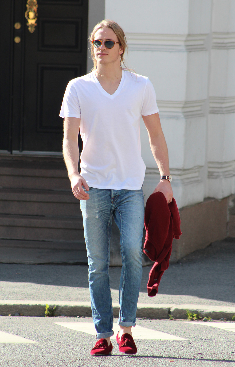 White t shirt and blue jeans - White T Shirt Blue Jeans Theo Blix _blog_ White T Shirt And Blue