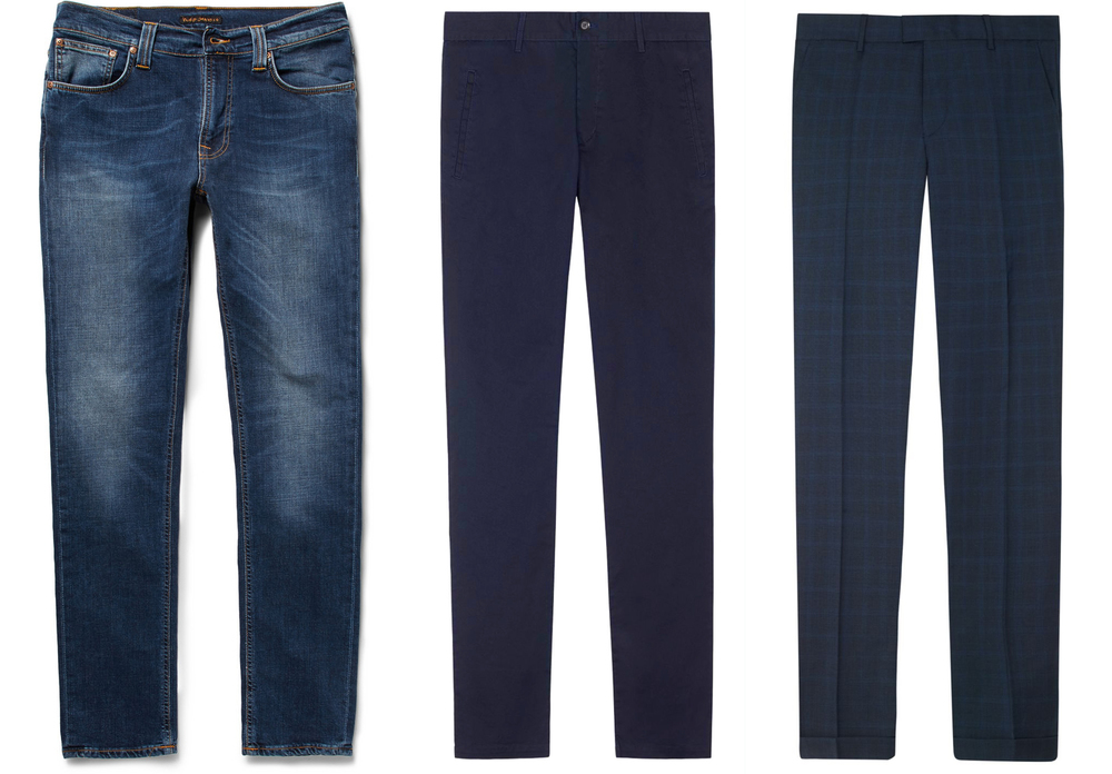 Theo Blix blogg, Mote for menn, herre klæer, Nudie Jeans, Filippa K slim fit chinos from NLY MAN, Nudie jeans from MR PORTER.