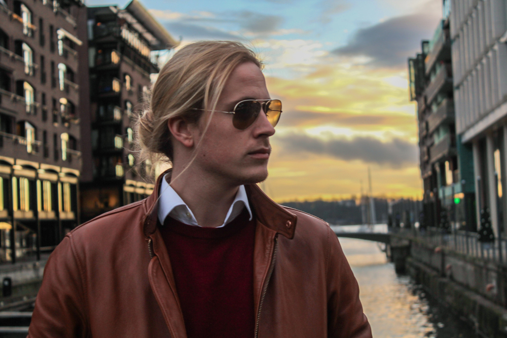 Theo Blix Mens Fashion Mens Style Blog. QG Style best male blog  men style mens fashion blog focusing on preppy Scandinavian style long hair styles for men
