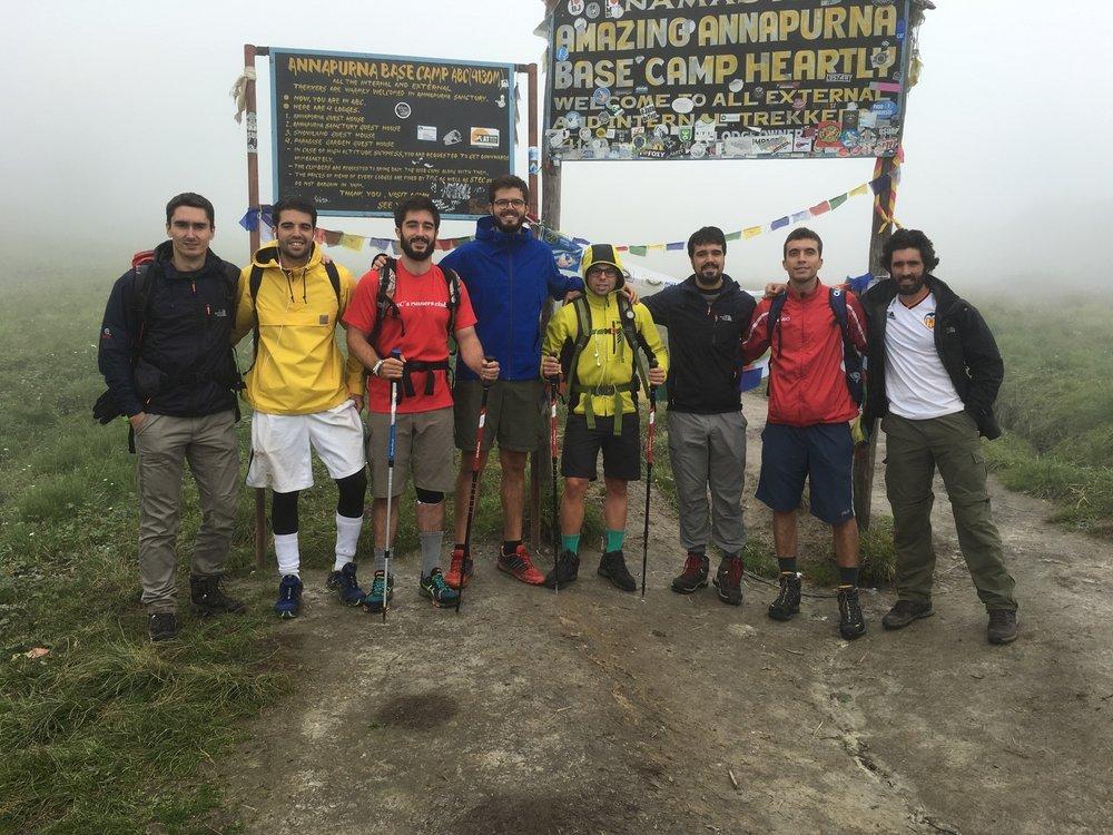 Campamento base del Annapurna (4.130m).