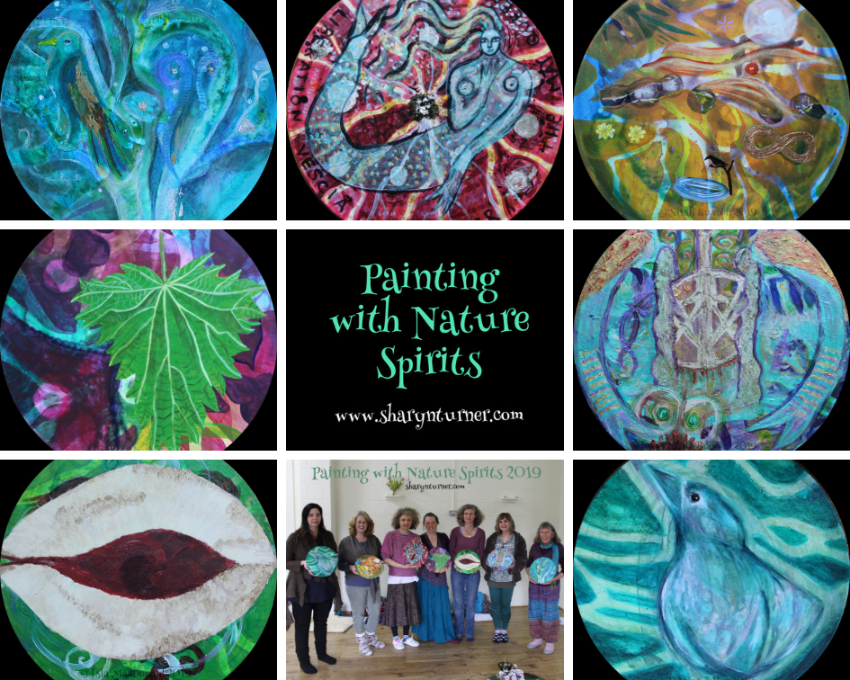 The beautiful and meaningful sacred art produced at my recent workshop