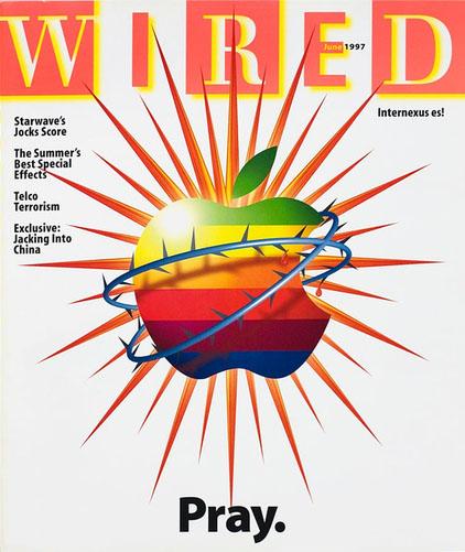 Wired  1997前 大篇幅運用特別色與大量的Infographic,訊號式的傳遞資訊