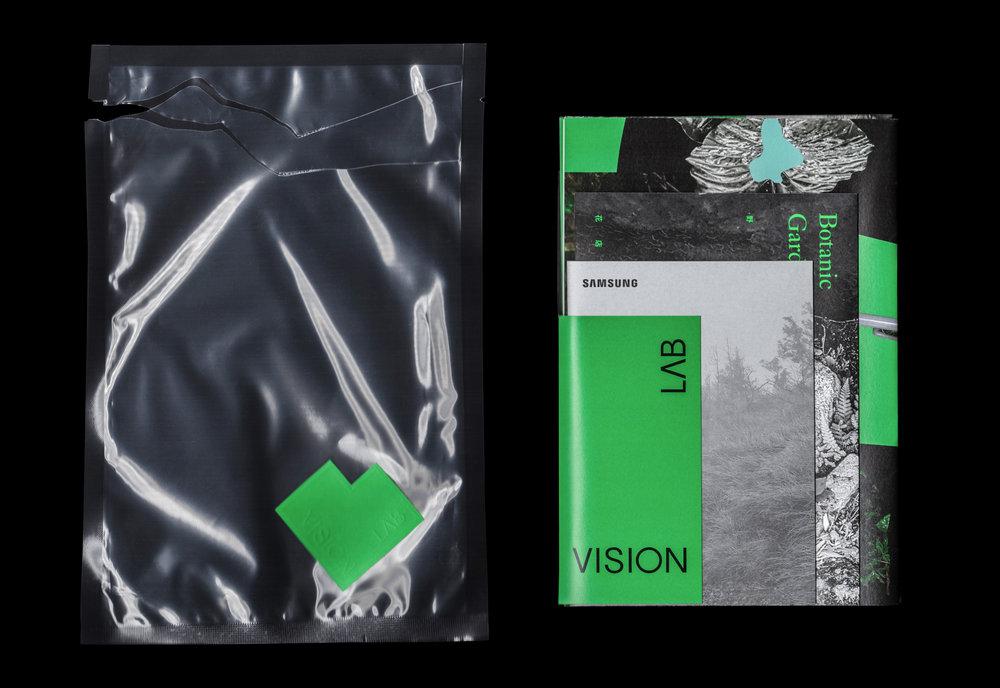 包裝方式由熱縮膜封裝,搭配WILD專屬的綠色VISON LAB logo鋼印貼紙。