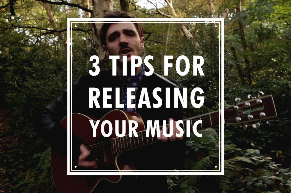 tips for releasing your music