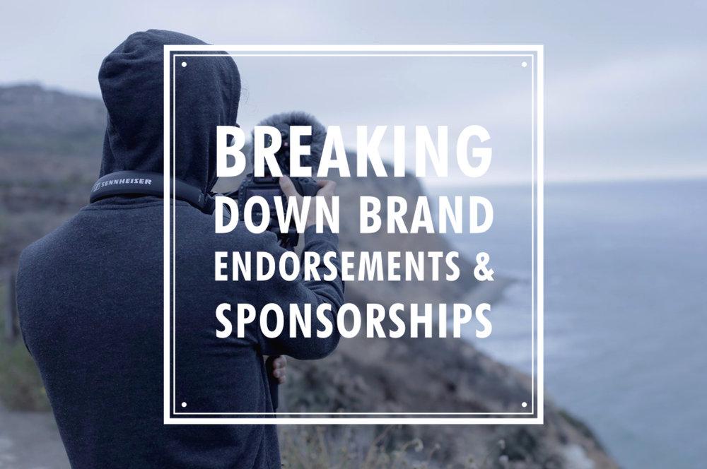 breaking down brand sponsorships