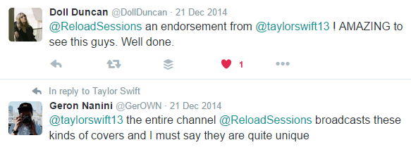 Taylor Swift Reload Sessions Reaction