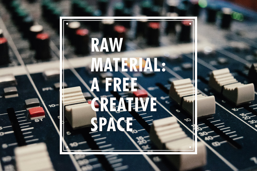raw material creative space