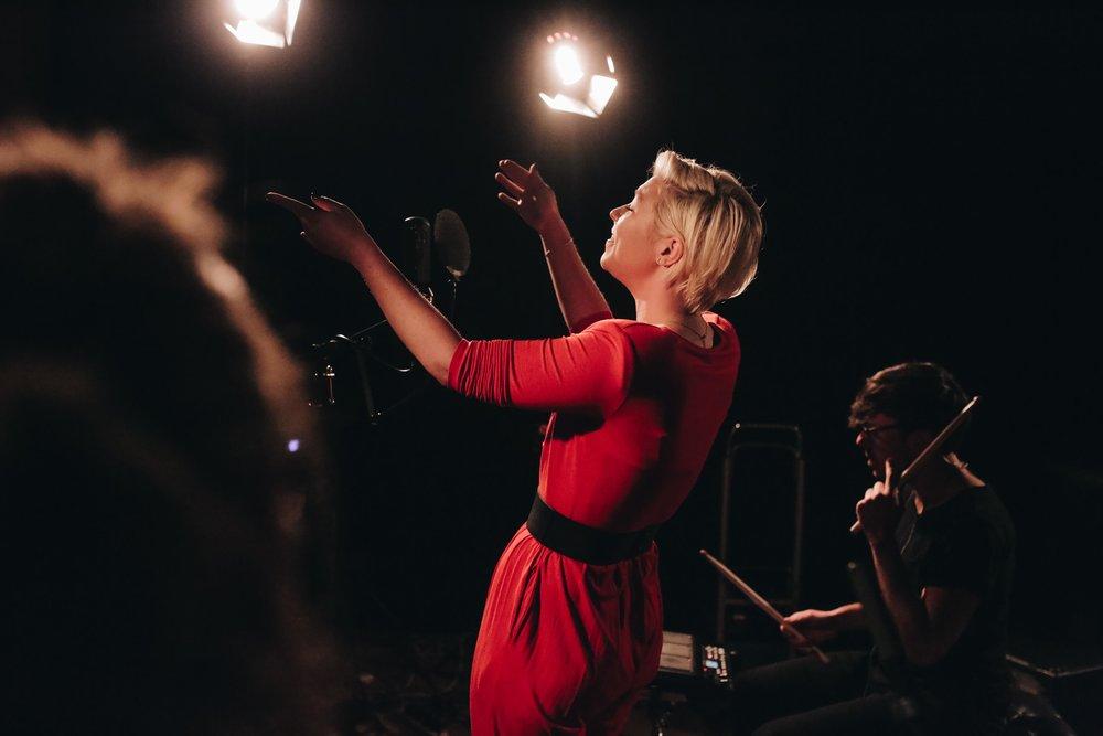 Moya performing