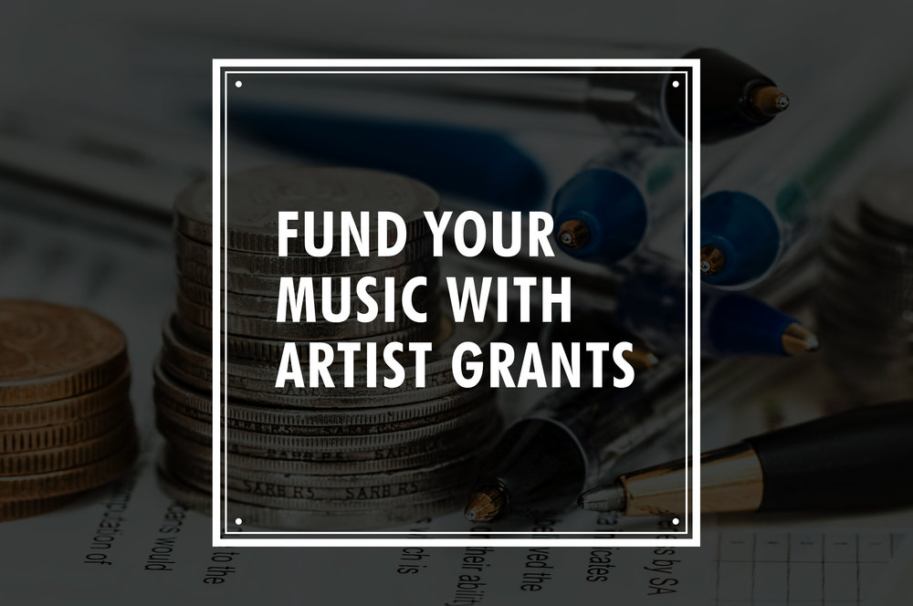 fund your music with artist grants