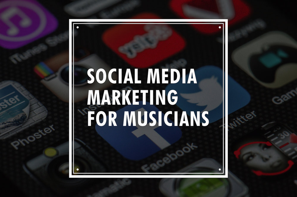 social marketing musician