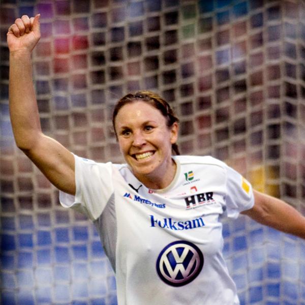 Hanna Ljungberg  F.d. spelare i UIK och Svenska landslaget