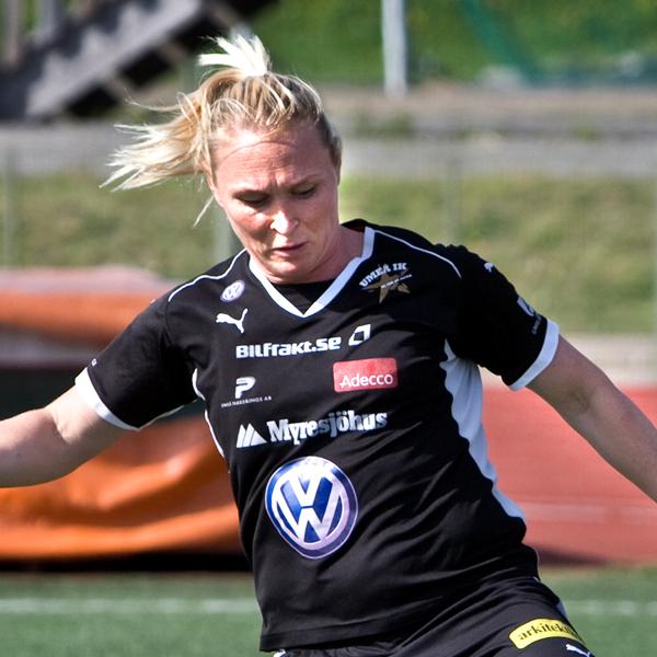 Frida Östberg  F.d. spelare iUIK och Svenska landslaget