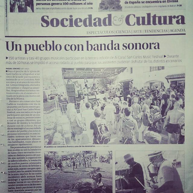 #press #prensa @sancarlosmusicfestival