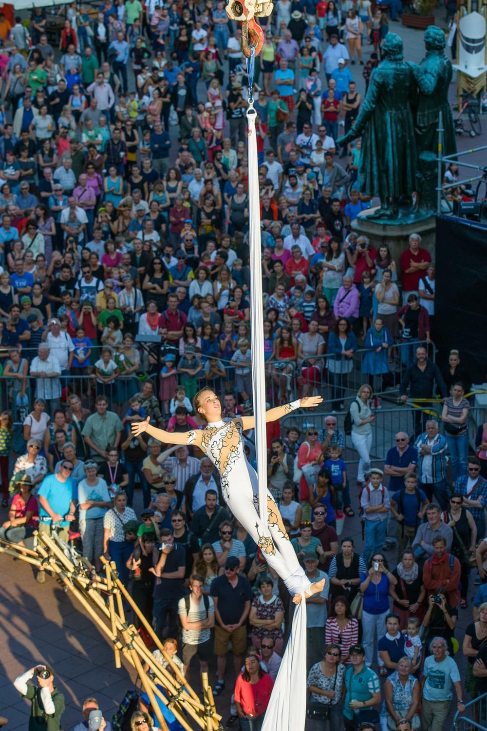 Eröffnung des Kunstfest 2015 am 21.08.15. Foto: Candy Welz