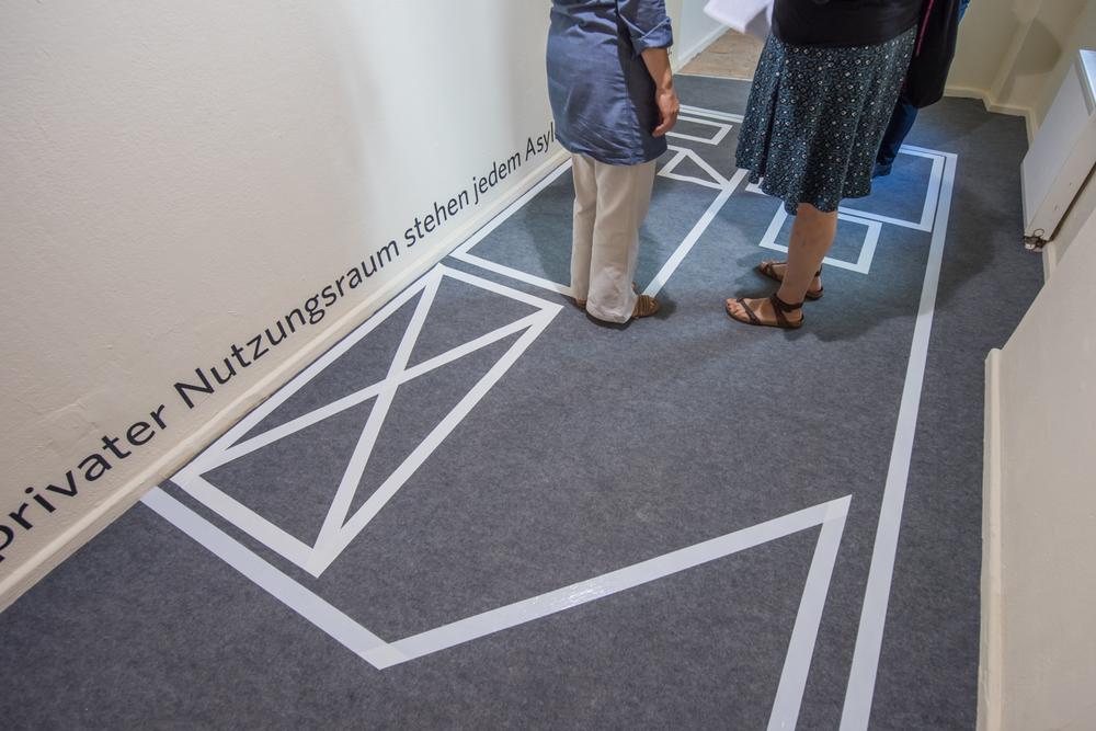 Eröffnung der Ausstellung Fluchtpunkte im Rahmen des Kunstfest in der ACC Galerie. Foto: Thomas Müller