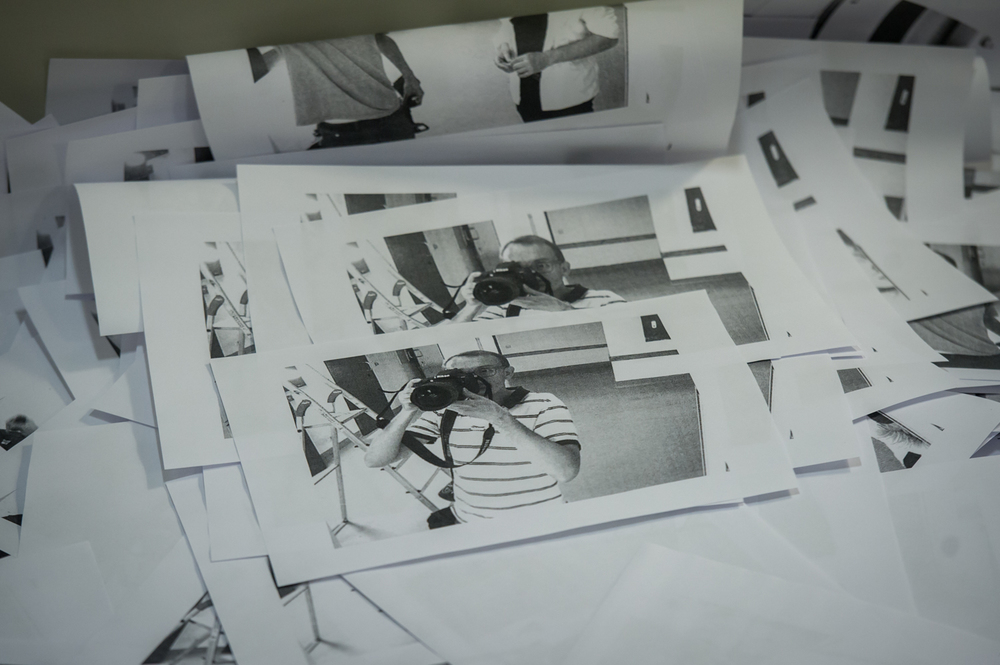 """Die Galerie Eigenheim stellt mit zahlreichen Künstlern """"Das Glücksprinzip"""" in der ehemaligen JVA Weimar aus.Foto: Thomas Müller"""