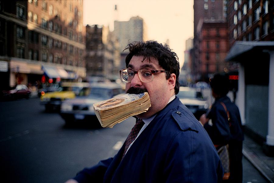 Jeff Mermelstein, Sidewalk, 1995