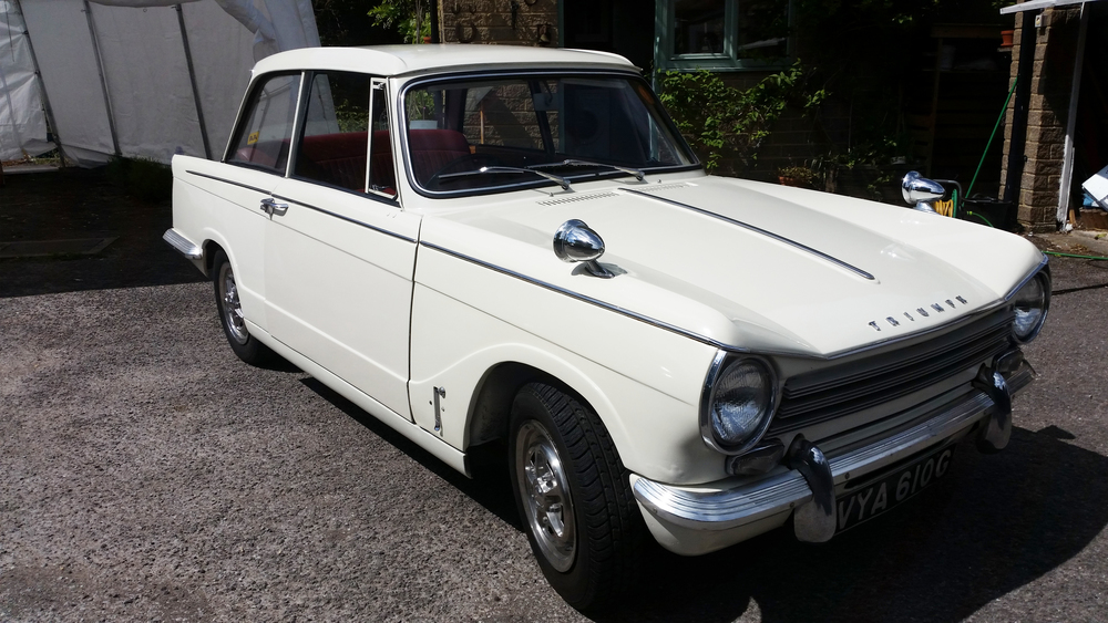 Restoration of Triumph Herald 13/60