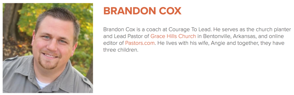 Brandon Cox Bio