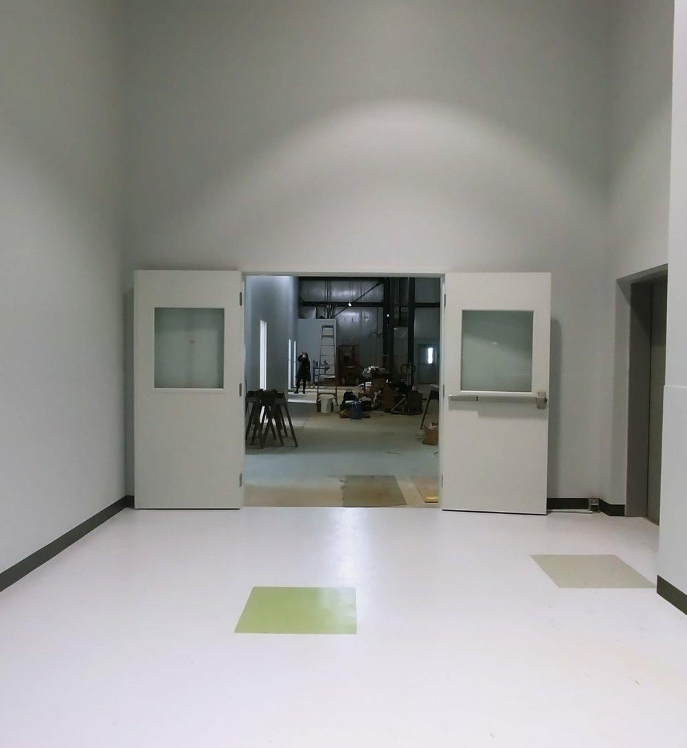 Front Door to Centre Elite Gymnastics