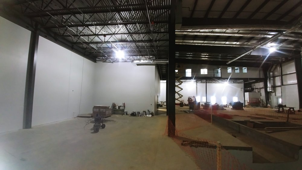 View From The Beam Area