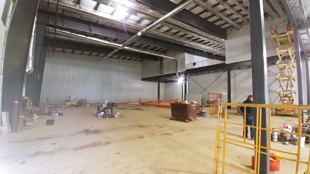 View Across the Gym towards Beams
