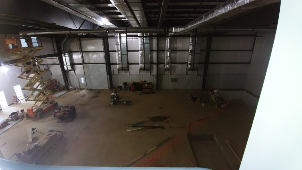 Main Gym from the Class Gym Viewing Area