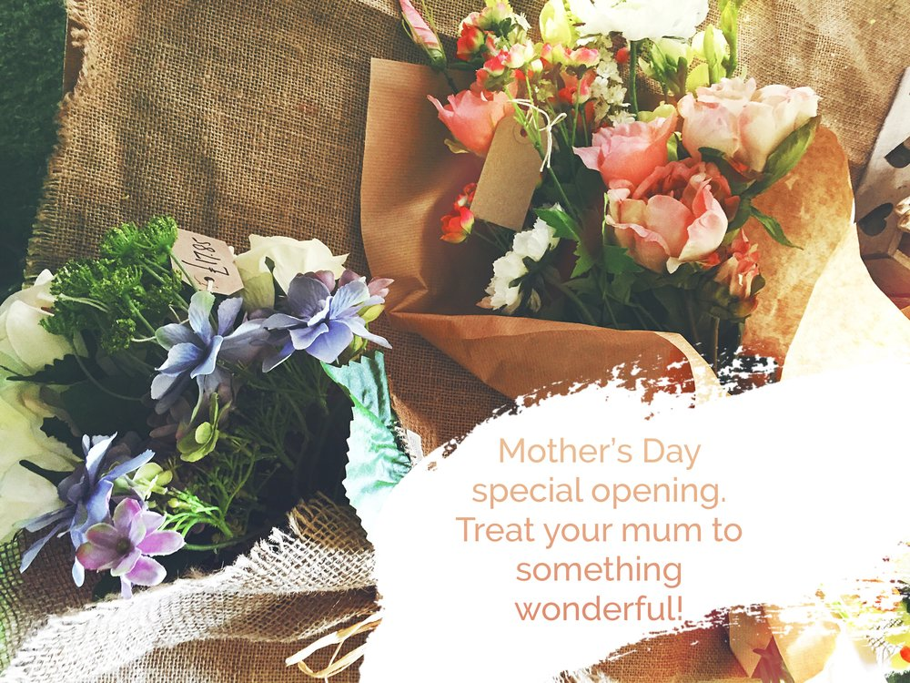 Don't forget - it's Mother's Day on Sunday!