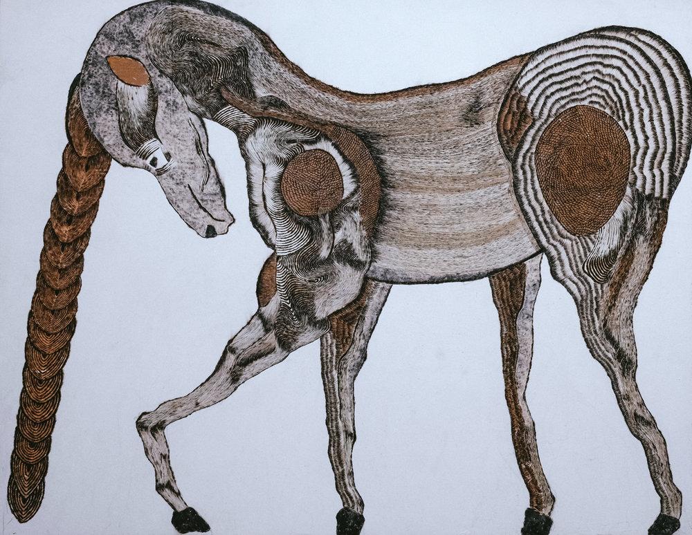 Copy of Licorne// Format 160 x 120 cm