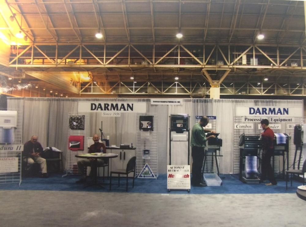 Darman Manufacturing TRSA Booth