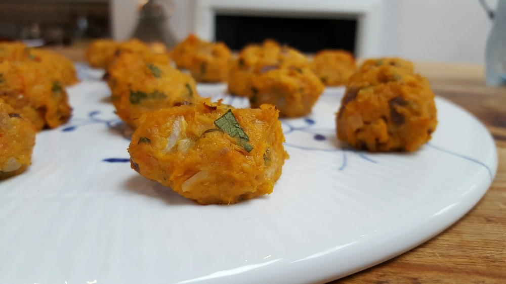 Tuna Sweet Potato Bites