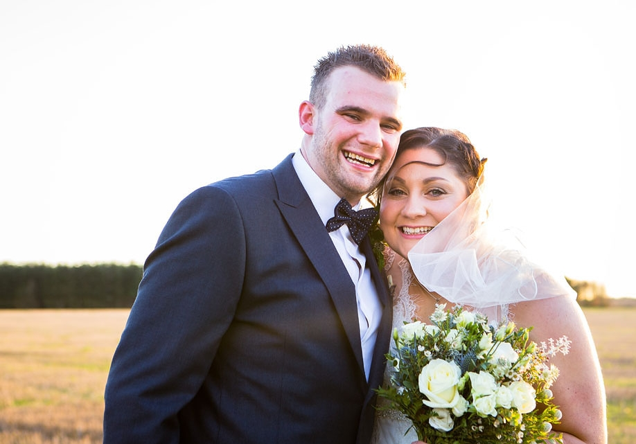"""""""WE ARE OVER THE MOON WITH OUR AMAZING WEDDING PHOTOS! WE NOW HAVE SOME WONDERFUL PHOTOS TO REMEMBER OUR SPECIAL DAY BY, THANKS TO CLIVE!""""… - Emma & Richard"""