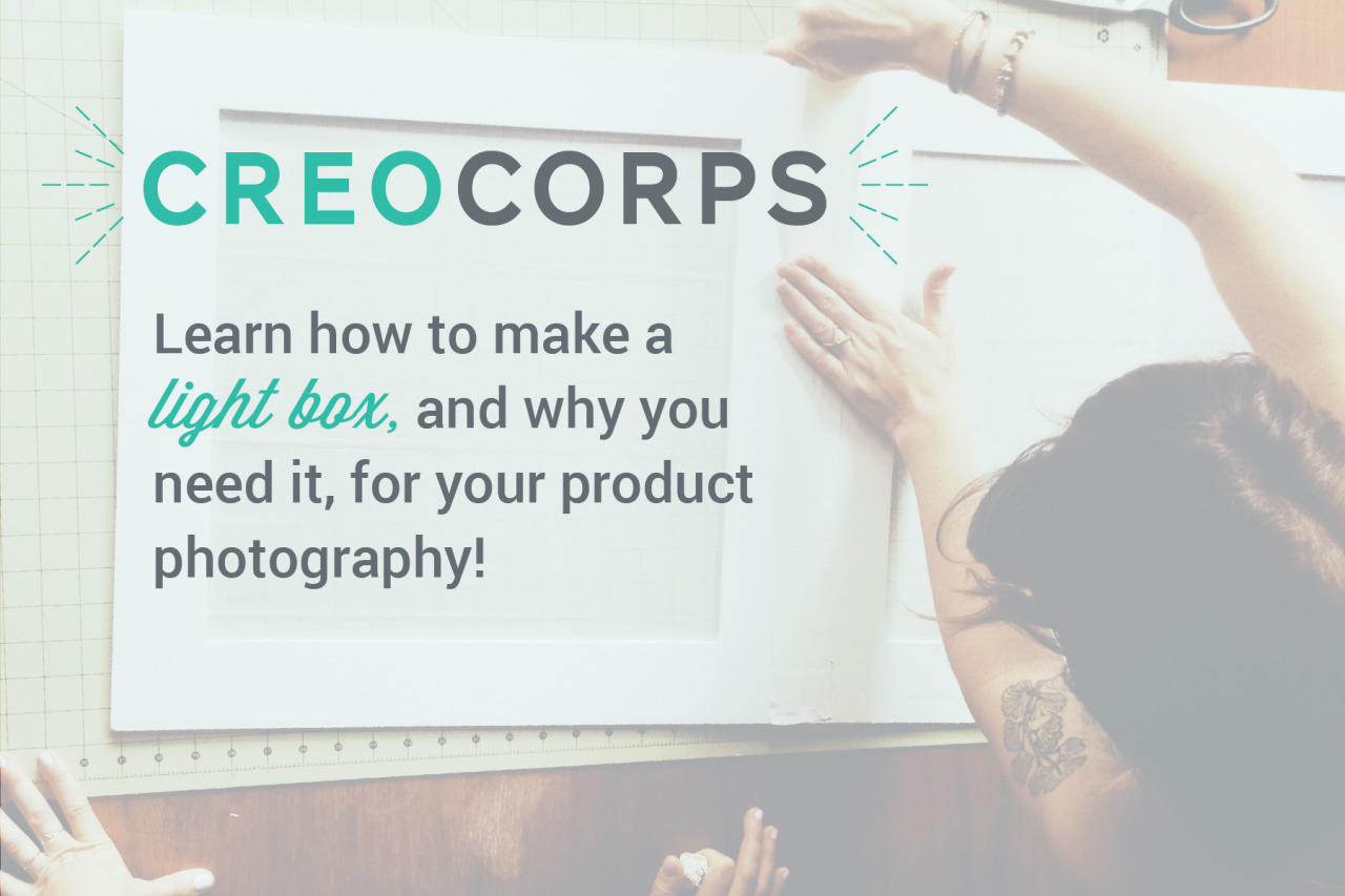 We are excited about the first Creo Corps event happening next Thursday! Ansel Olson will be sharing how to get the most from your chosen photography device and Christie will show you how a DIY lightbox will change your life. Up your product photography game and come hang out with us! Here are the full details and register here.