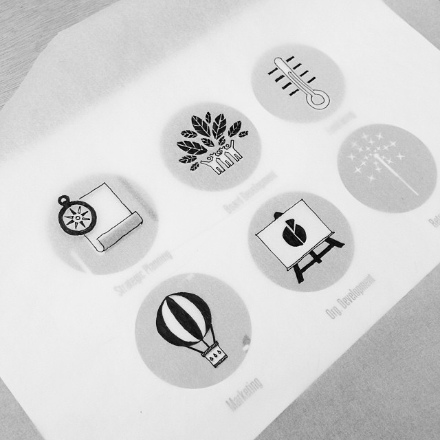 Work In progress. Coming soon, The Spark Mill icons created by #campfireandco by thesparkmill http://instagram.com/p/juYCpKJvt8/