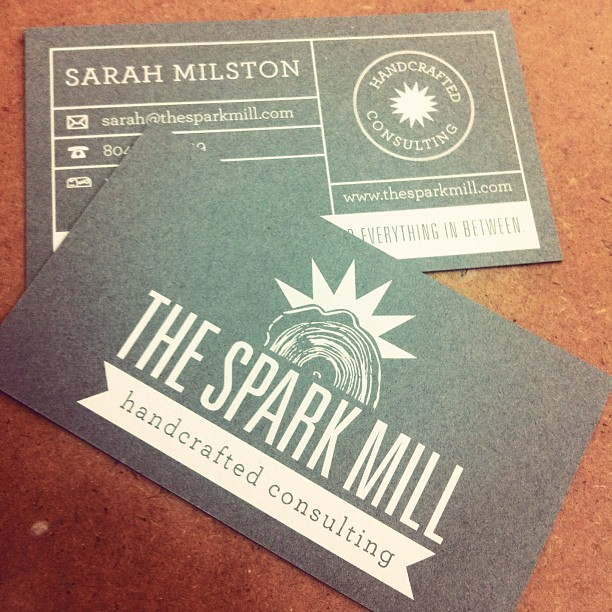 New business cards for a very happy client! @sarahmilston #campfireandco by laurenelaine  http://bit.ly/15GEeSw