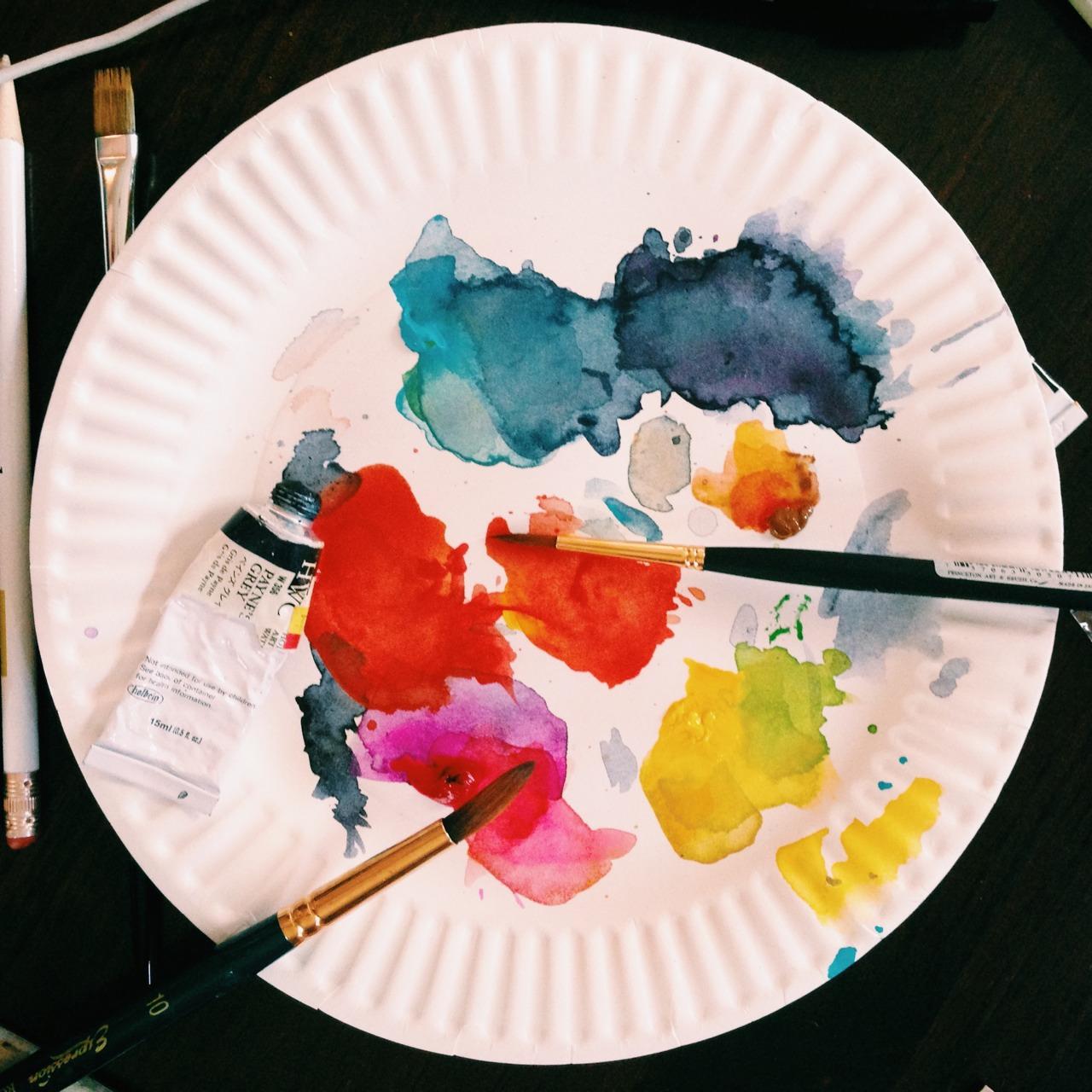 Pretty summer palette