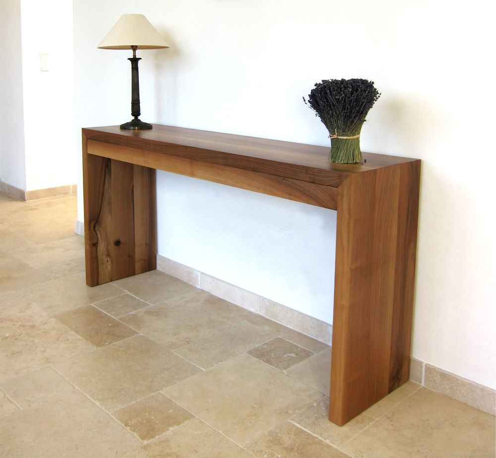 ASK console table in situ