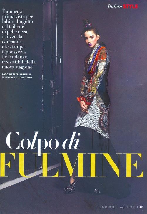 VANITY FAIR ITALIA | SEPT 2012