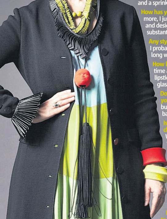 """Metro """"What I wear"""" Interview 2012"""