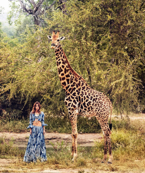 Vogue India Kriti Sanon wearing MLH necklace