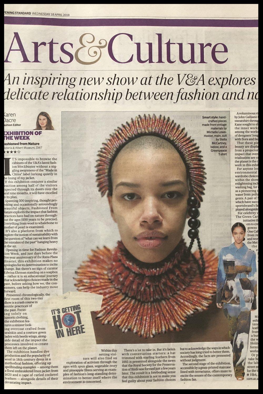 Evening Standard April 2018