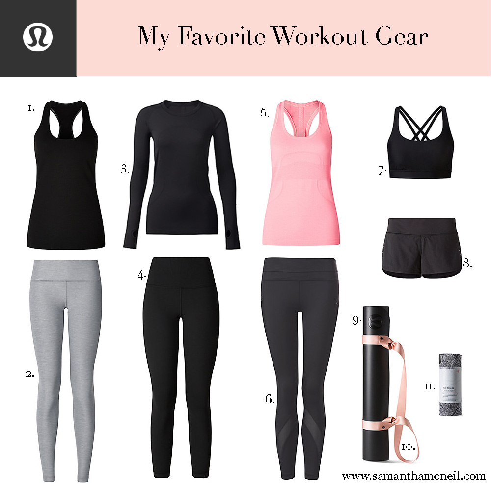 c5d337da20 My Favorite Workout Gear — SAMANTHA MCNEIL