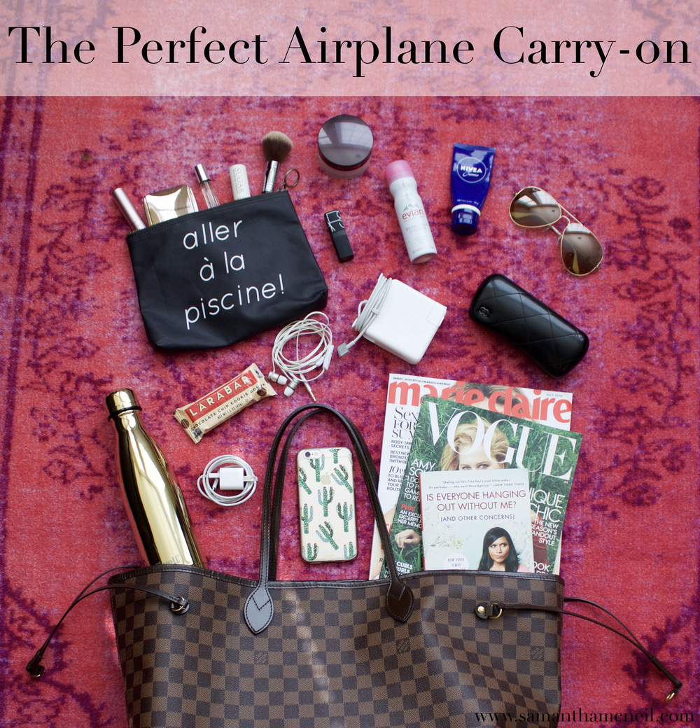 The Perfect Airplane Carry-on