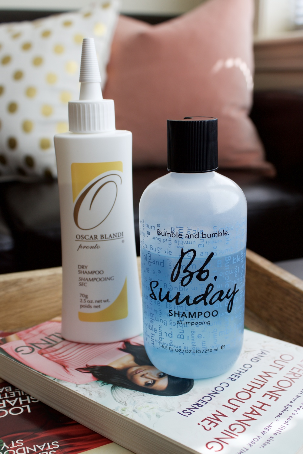 Samantha McNeil July Favorites - Dry Shampoo and Clarifying Shampoo