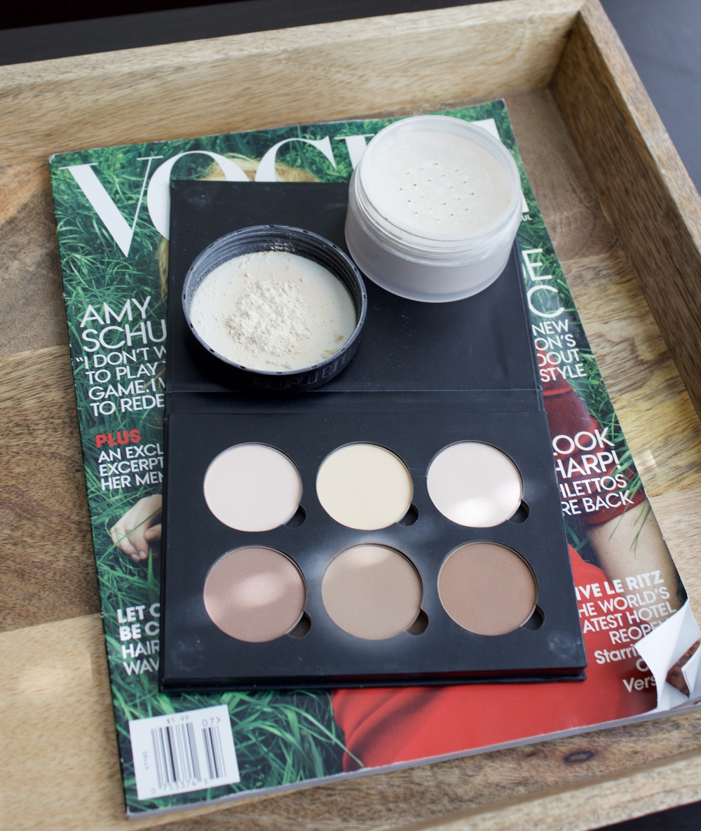 Samantha McNeil Blog July Favorites - Contour Kit and Setting Powder