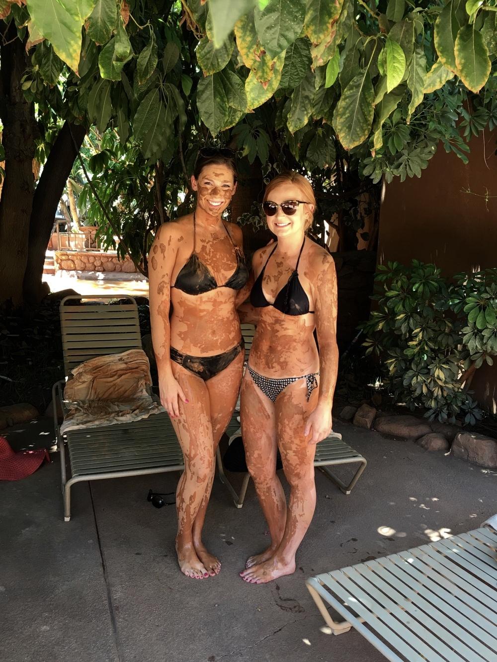 Samantha McNeil Blog Glen Ivy Club Mud